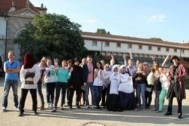 Тимбилдинг в Праге
